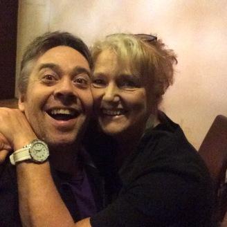 Greg Ashton with Louise Jameson
